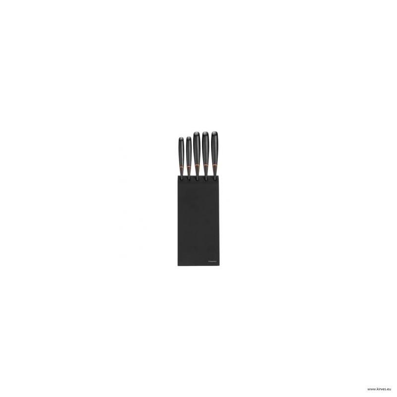53fd62c1415 Fiskars Edge 5 kööginuga koos kasepuidust alusega @ Kirves e-pood