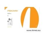 Fiskars Functional Form söögiriistade komplekt  24 osaline, matt