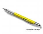 Multiool pen 6in1 kollane