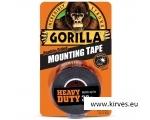 Gorilla teip Mounting Black 1,5m