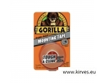 Gorilla teip Mounting Clear 1,5m