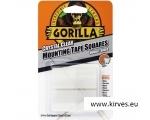 Gorilla teip Mounting Tape Squares 24tk