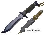 URSUS BLACK JKR COMBAT KNIFE