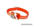 Pealamp Led Lenser SEO 3 oranž