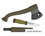 Morakniv® Outdoor Kit MG kirves ja  MORA 2000 nuga