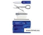 Victorinox SwissCard sinine läbipaistev