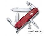 Victorinox Spartan taskunuga punane läbipaistev