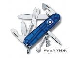 Victorinox Climber taskunuga matkale sinine läbipaistev