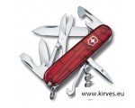 Victorinox Climber taskunuga matkale punane läbipaistev