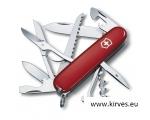 Victorinox Huntsman taskunuga jahimehele punane