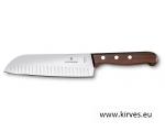 Victorinox luksuslik  Santoku nuga  roosipuust käepidemega