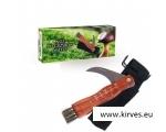 Seenenuga puidust käepideme ja pintsliga